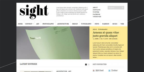 Премиум wordpress тема: Sight