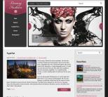 Женская тема для wordpress: LuxuryFashion
