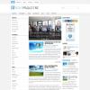 Светлый новостной шаблон вордпресс: NewsMagazine