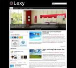 Новостной шаблон для wordpress: Lexy