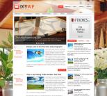 Домашний шаблон wordpress: DIYWP