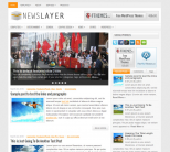 Газетная тема для wordpress: NewsLayer