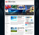 Кино шаблон для wordpress: eMovies