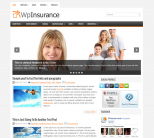 Домашний шаблон для wordpress: WpInsurance