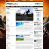Игровая новостная тема wordpress: HotGames