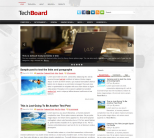 Шаблон wordpress о гаджетах: TechBoard