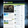 Игровая тема для wordpress: GameMagazine