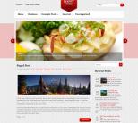 Кулинарный шаблон wordpress: HappyFood
