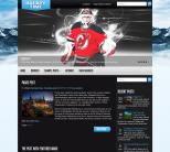 Спортивный шаблон wordpress: HockeyTime