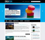 Креативная тема для wordpress: Creation