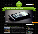 Hi-tech тема для wordpress: GadgetPoint