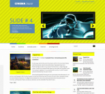 Кино шаблон для wordpress: CinemaBazar
