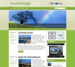 Зеленая новостная тема wordpress: TemplateGreen