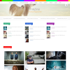 Разноцветный шаблон wordpress: Inkzine