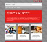 Серая тема для wordpress: Barrister