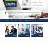 Светлый шаблон для wordpress: Comfes