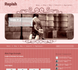 Тема wordpress для женского сайта: Repish